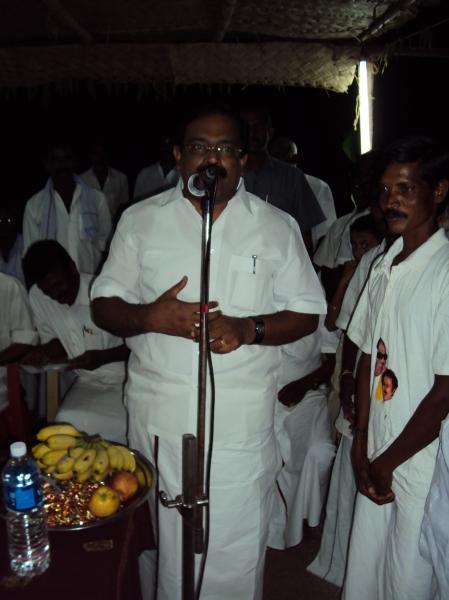 ChakrapanChakrapani MLA visits to Perumal Goundan Valasui MLA visits at Perumal Goundan Valasu