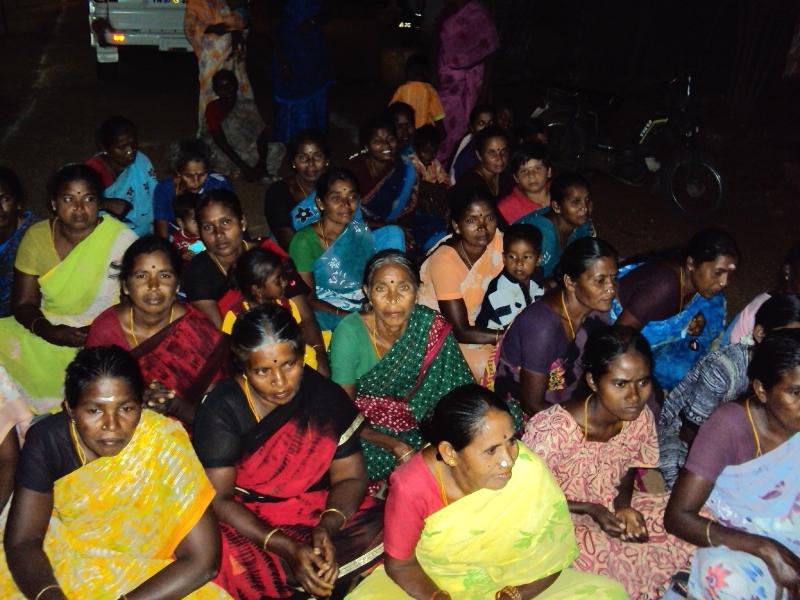 ChakrapChakrapani MLA visits to Perumal Goundan Valasuani MLA visits at Perumal Goundan Valasu